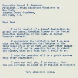 Letter : 1941 December 3