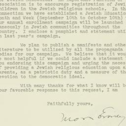 Letter : 1942 July 23