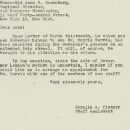 Letter : 1944 March 21