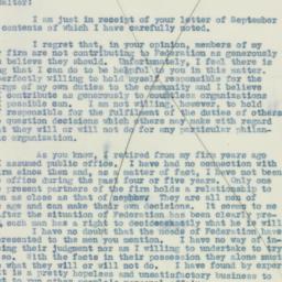 Letter : 1937 September 30