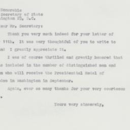 Letter : 1963 July 17