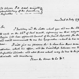 Document, 1795 July 08