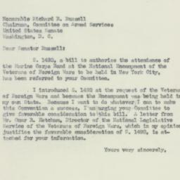 Letter : 1951 June 22