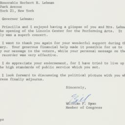Letter : 1962 October 1