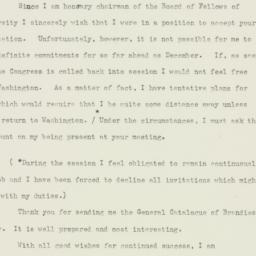 Letter : 1950 September 15
