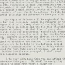 Letter : 1941 March 14