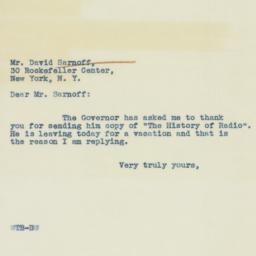 Letter : 1938 November 15
