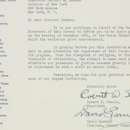 Letter : 1941 December 2
