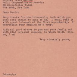 Letter : 1945 January 22