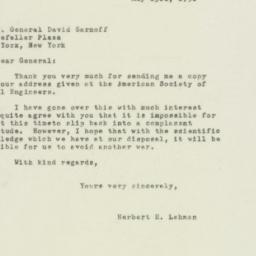 Letter : 1950 May 23