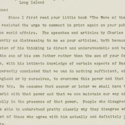 Letter : 1941 January 22