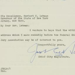 Letter : 1938 January 31