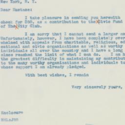Letter : 1942 June 1