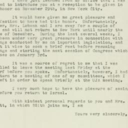 Letter : 1955 November 24