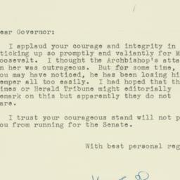 Letter : 1949 July 25
