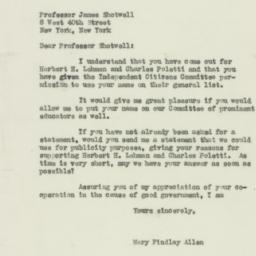 Letter : 1938 October 26