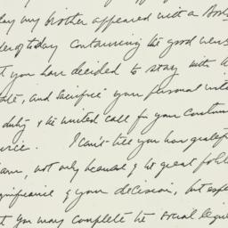 Letter: 1936 July 1