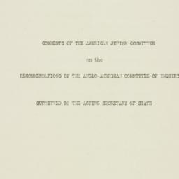 Manuscript: 1946 June 18