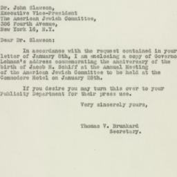 Letter : 1947 January 14