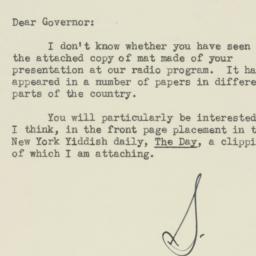 Letter : 1947 April 15