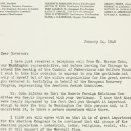 Letter : 1948 January 24