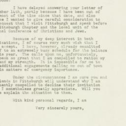 Letter : 1948 September 28
