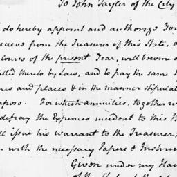 Document, 1799 April n.d.