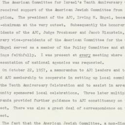 Memorandum : 1958 May 22