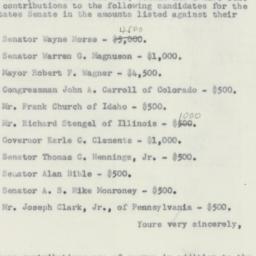 Letter : 1956 October 2