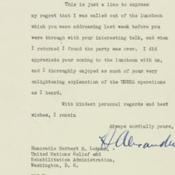 Letter : 1945 March 20