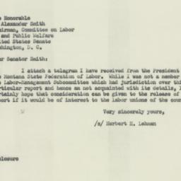 Letter : 1953 January 26