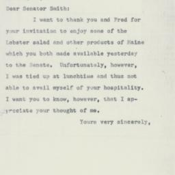 Letter : 1955 June 18