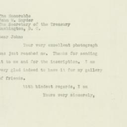 Letter : 1951 August 4