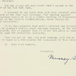 Letter: 1940 May 13