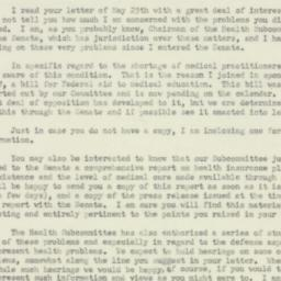 Letter : 1951 May 29