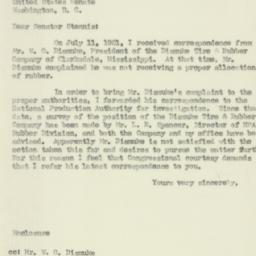 Letter : 1951 September 4