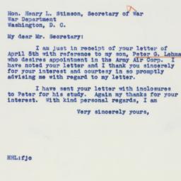 Letter : 1941 April 12