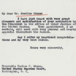 Letter : 1941 June 12