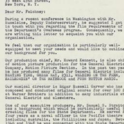 Letter : 1950 December 6