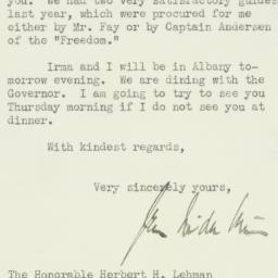 Letter : 1931 March 31