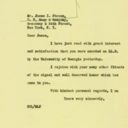 Letter : 1931 June 17