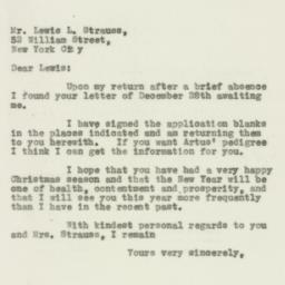 Letter : 1932 January 7