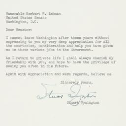 Letter : 1952 January 8