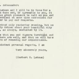 Letter : 1957 August 18