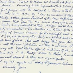 Letter : 1961 October 19