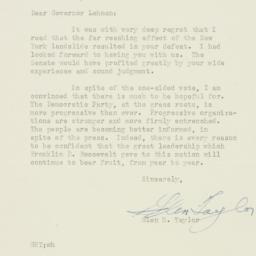Letter : 1946 November 16