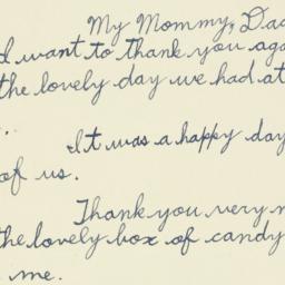 Letter : 1938 July 11
