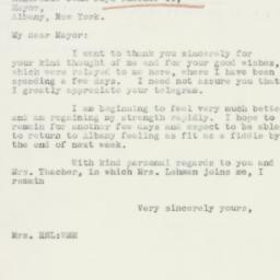 Letter : 1933 December 2