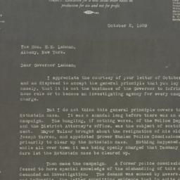 Letter : 1929 October 2