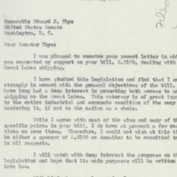 Letter : 1950 March 21